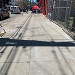 Blocked Pedestrian Walkway at 1576 15TH ST