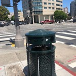 Garbage Containers at Intersection Of Gough St & Geary Blvd
