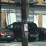 Illegal Postings at Intersection Of Lombard St & Taylor St