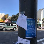 Illegal Postings at 4600 Mission St