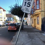 Parking & Traffic Sign Repair at 1166 Alabama St