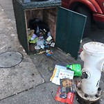 Garbage Containers at Intersection Of Mason St & Filbert St