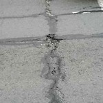 Pothole & Street Issues at 52 The Embarcadero