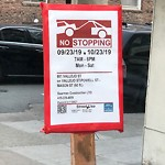 Illegal Postings at Intersection Of Powell St & Vallejo St