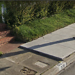 Curb & Sidewalk Issues at 50 Rossmoor Dr Lakeshore