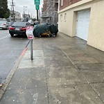 Blocked Pedestrian Walkway at 370 14th St