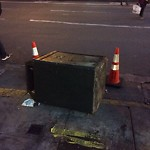 Garbage Containers at Intersection Of Geary St & Kearny St