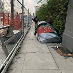 Encampment at 50 South Van Ness Ave