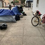 Encampment at Intersection Of 15th St & Shotwell St