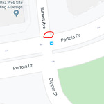 Pothole & Street Issues at Burnett Ave & Portola Dr Twin Peaks Sf