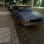 Abandoned Vehicles at Intersection Of Fairfax Ave & Phelps St