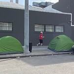 Encampment at 2550 Mariposa St