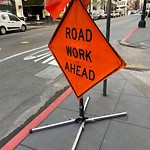 Parking & Traffic Sign Repair at 210 Sutter St