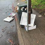 Garbage Containers at 298 14th Ave