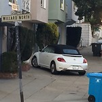 Blocked Driveway & Illegal Parking at 2784 Golden Gate Ave