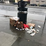 Garbage Containers at 7509 Geary Blvd
