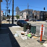 Garbage Containers at 701 South Van Ness Ave