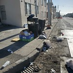 Garbage Containers at 3201 Taraval St