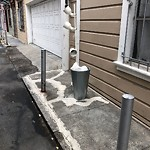 Curb & Sidewalk Issues at 54 Sonoma St