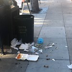 Garbage Containers at Intersection Of Gold St & Sansome St
