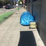 Encampment at Intersection Of Folsom St & Rodgers St