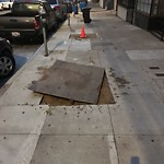 Curb & Sidewalk Issues at 1506 Vallejo St