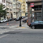 Parking & Traffic Sign Repair at Intersection Of Hyde St & Post St