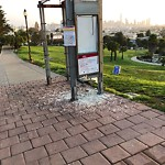 Damaged Public Property at Unknown #1001058966