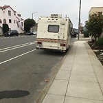 Blocked Driveway & Illegal Parking at 3200 Ocean Ave