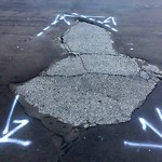 Pothole & Street Issues at 707 York St