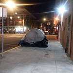 Encampment at 1711 15th St Mission District