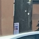 Illegal Postings at Intersection Of 16th St & Landers St