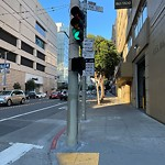 Parking & Traffic Sign Repair at 101 11th St