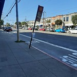 Parking & Traffic Sign Repair at 5319 Mission St
