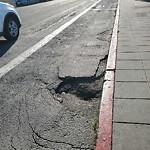 Pothole & Street Issues at 856 Beach St