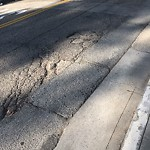Pothole & Street Issues at Intersection Of Executive Park Blvd & Blanken Ave