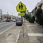Parking & Traffic Sign Repair at 1767 19th Ave